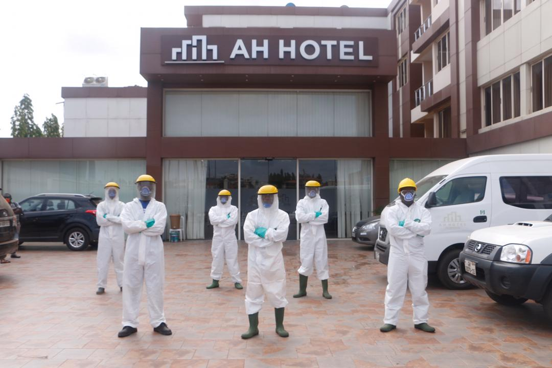Photo of Zoomlion Disinfects 750 Bedroom Hotel