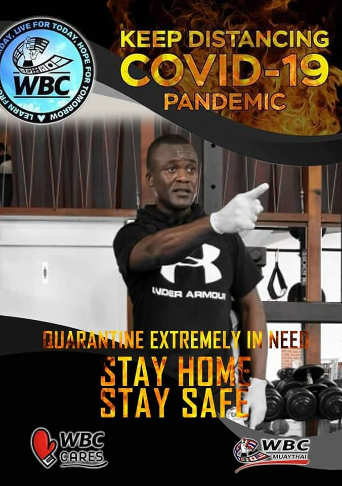 Photo of Two Times SWAG Kickboxer Of The Year Commends Media In Fight Against Covid-19