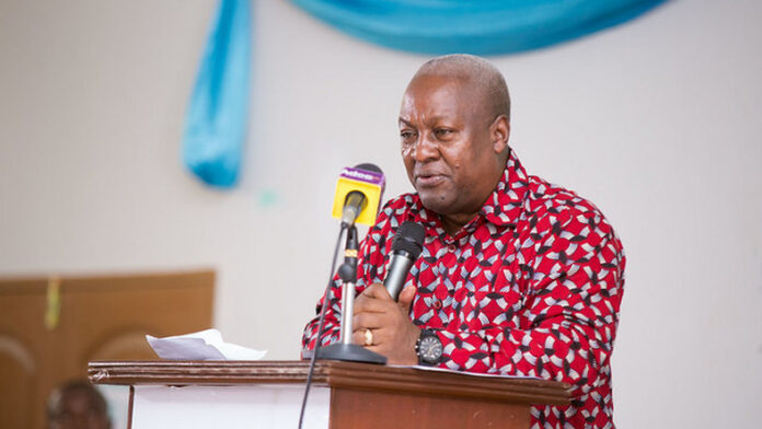 Photo of Akufo-Addo's Gov't has failed to effectively manage public education on Covid-19 – Mahama