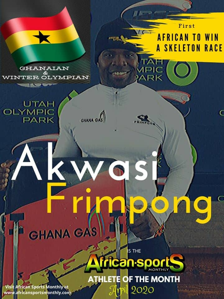 Photo of Akwasi Frimpong Wins African Sports Monthly Magazine – Athlete Of The Month (April 2020)
