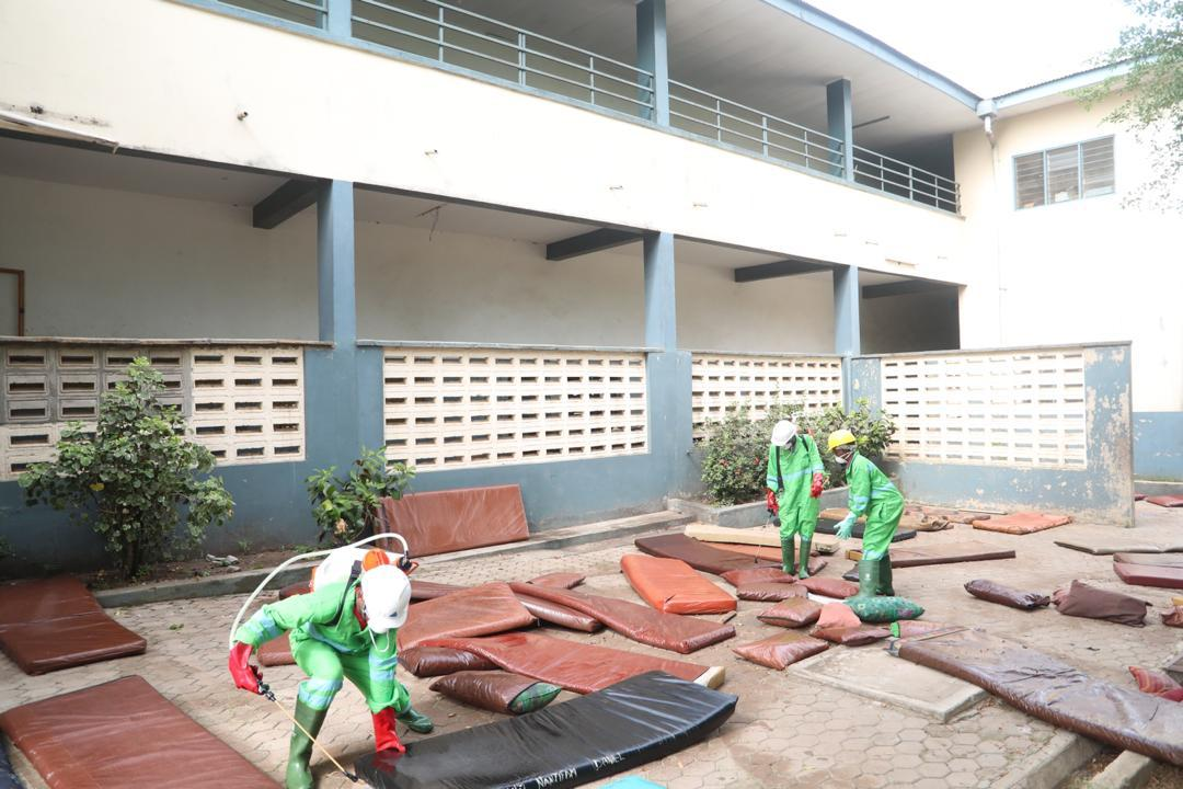 Photo of Bedbugs Force Students To Sleep  In Dining Hall —SECTECH Head