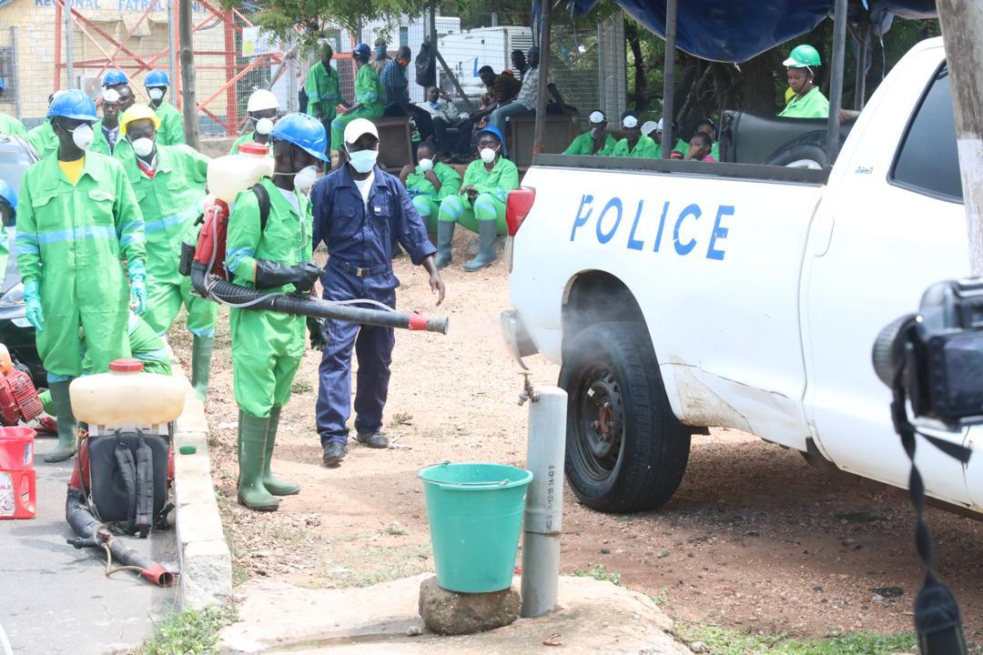 Photo of Zoomlion Begins Disinfection Exercise Of 115 Police Stations In The Western Region