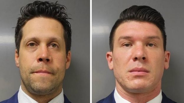 Photo of Two Buffalo policemen charged for shoving 75-year-old protester