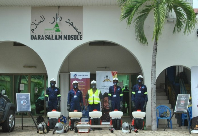 Photo of Undaglow partners Aliu Mahama Foundation to undertake free disinfection for Mosques, Churches