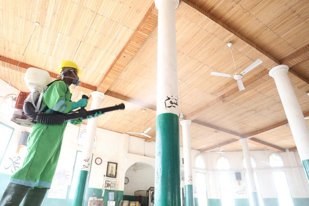 Photo of *Zoomlion Begins National  Disinfection Exercise Of Mosques*