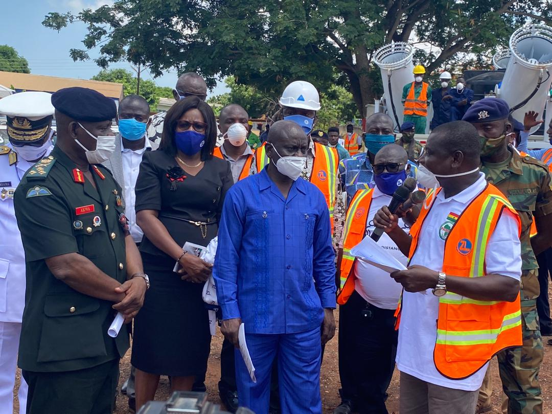 Photo of Minister Commends Zoomlion For  Using WHO Approved Standards In Disinfection Exercises