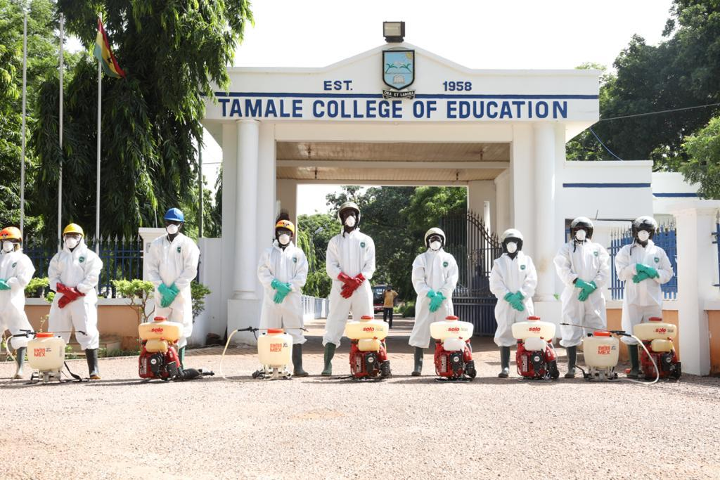 Photo of Zoomlion Begins Disinfection of Colleges of Education In N/R