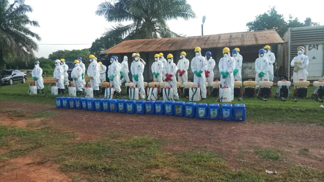 Photo of Zoomlion Disinfects 3,000 Military  Facilities In A/R Again