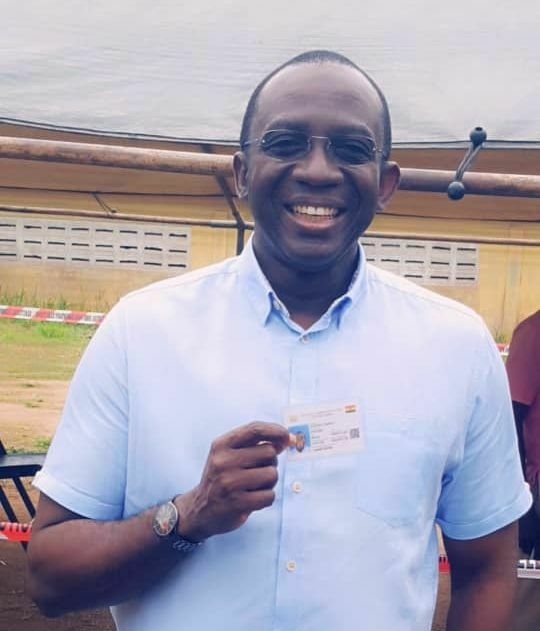 Photo of Awuah-Darko Secures Voter ID Card For 2020 Elections