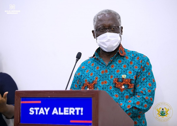 Photo of Osafo-Maafo Tests Positive For Coronavirus