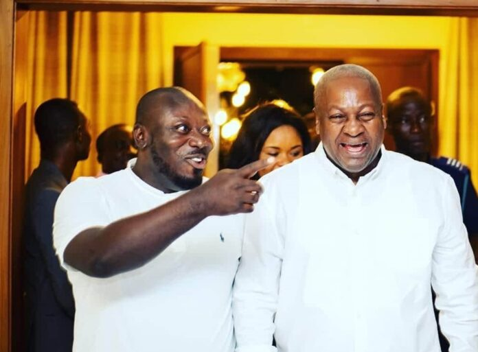 Photo of 'Mahama Not Violent Like Hot-Tempered Akufo-Addo' – NDC Youth Organiser