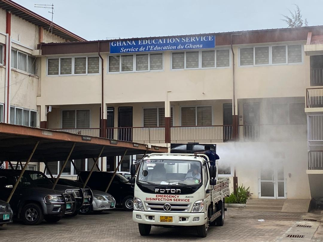 Photo of Zoomlion Disinfects Education Ministry Against COVID-19
