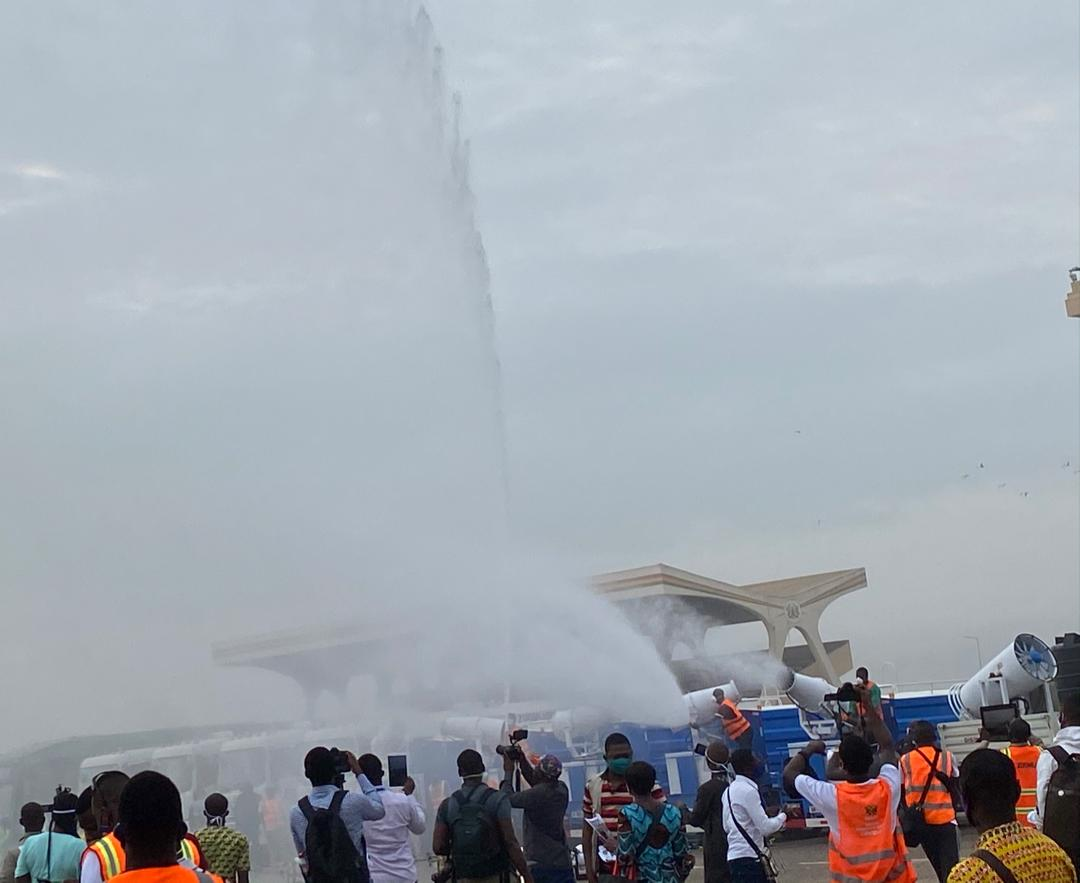Photo of Phase ll of Nationwide Market Disinfection Exercise Launched