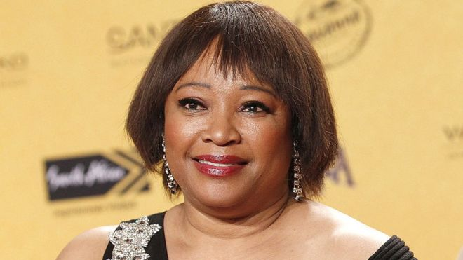 Photo of Mandela's Daughter Zindzi Tested Positive For Virus