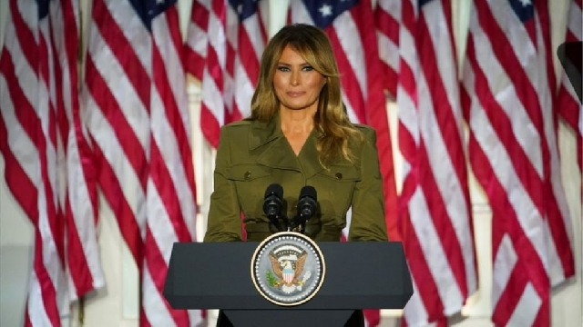Photo of Melania Trump Makes Plea For Racial Harmony
