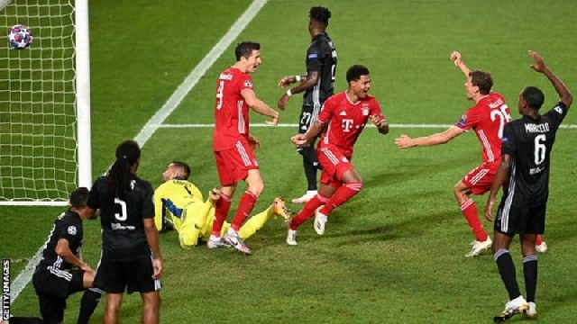 Photo of Bayern Breeze Past Lyon To Set Up PSG Showdown