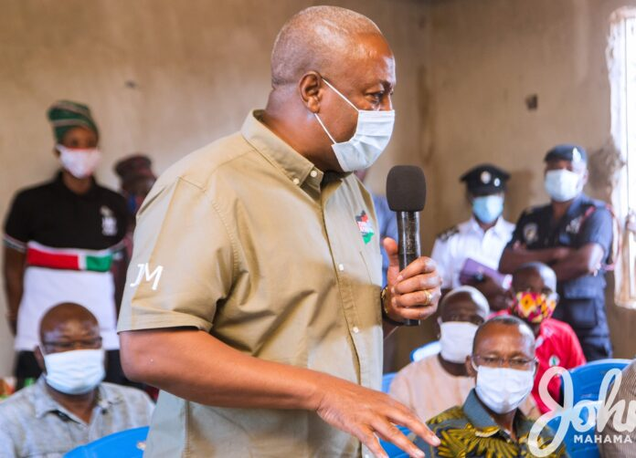 Photo of Mahama To NPP: 'Let's Compare Infrastructure Track Record'