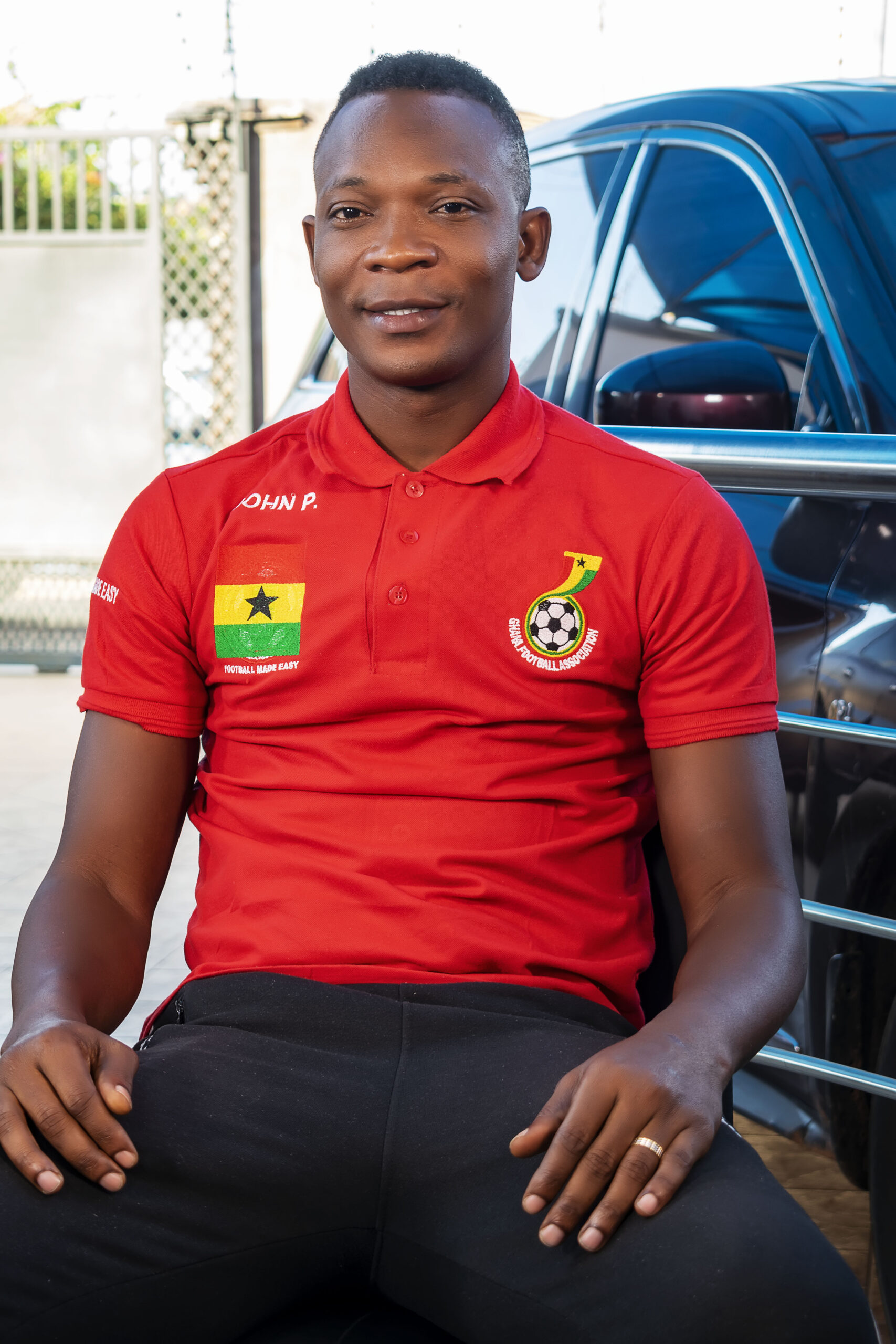 Photo of I'd rather have been a security officer than a footballer — John Paintsil
