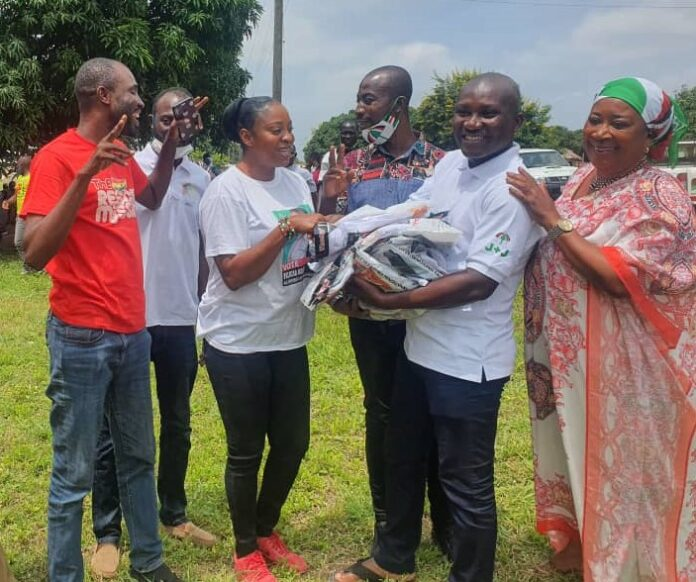 Photo of Fmr NDC Ningo-Prampram Chairman Adopts Constituencies, Calls For Unity