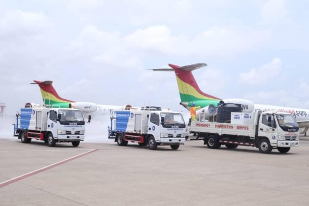 Photo of Zoomlion Disinfects Kotoka Ahead Of Reopening Of Airports