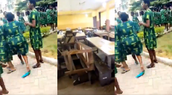 Photo of WASSCE: Tweneboah Koduah Students Protest Over Strict Supervision