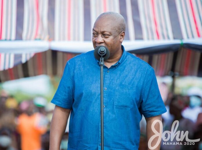 Photo of Mahama promises to build rice processing factory at Asutifi