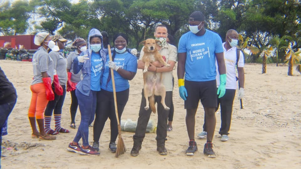 Photo of Decathlon Ghana Joins Cleanup Day At Laboma Beach