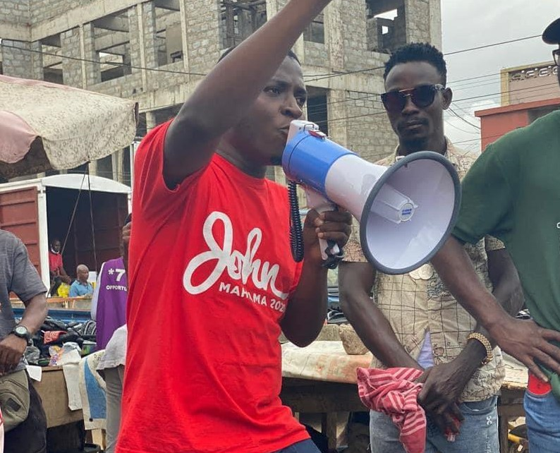 Photo of 'A vote for Mahama is a vote for sustainable jobs' – Edem Agbana tells youth