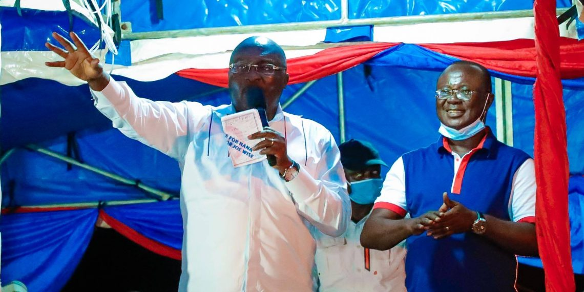 Photo of Bawumia runs to Bekwai as falling Joe Wise deepens cracks in NPP