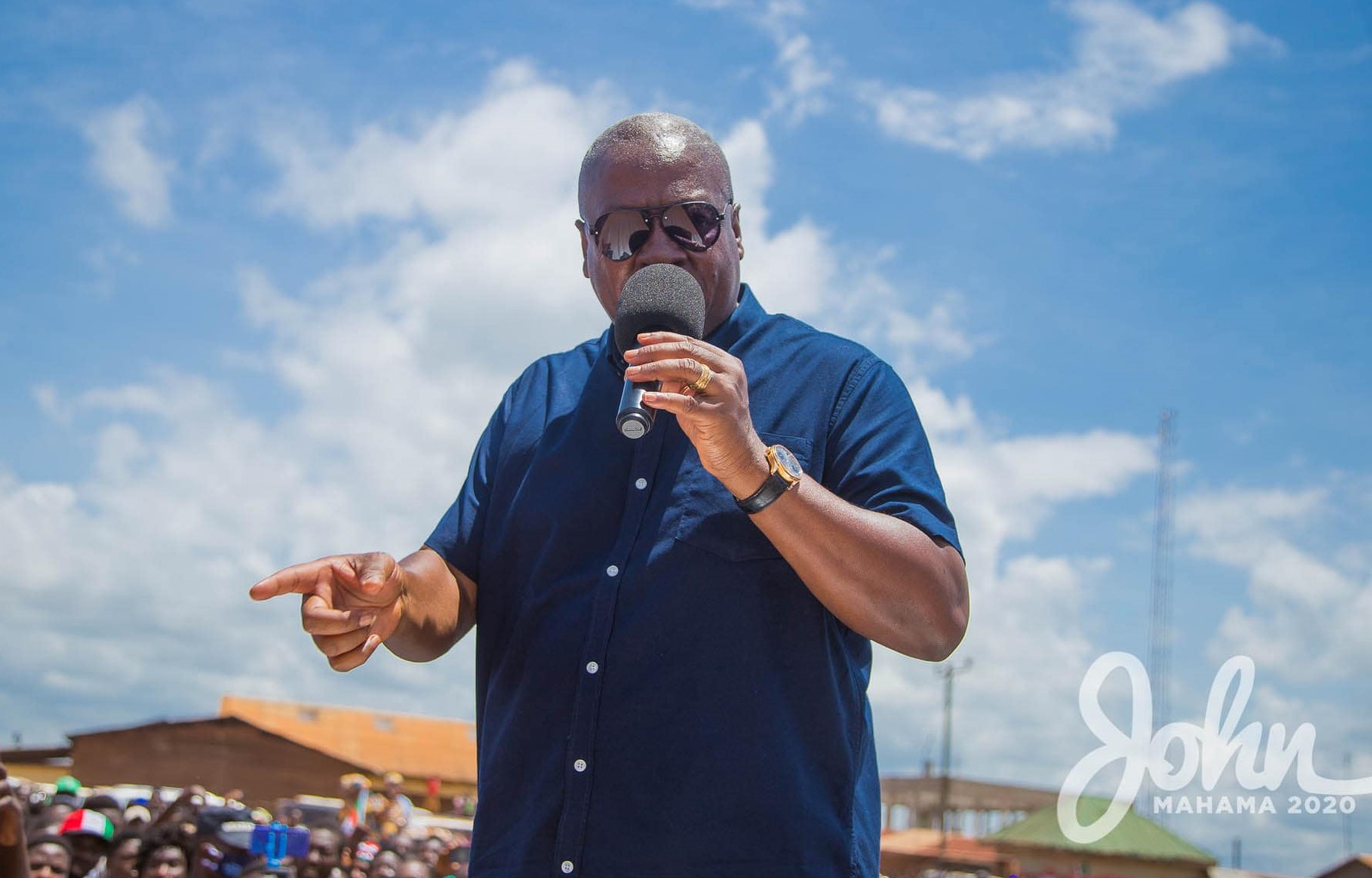Photo of Mahama promises to build petrochemical industry at Bonyere
