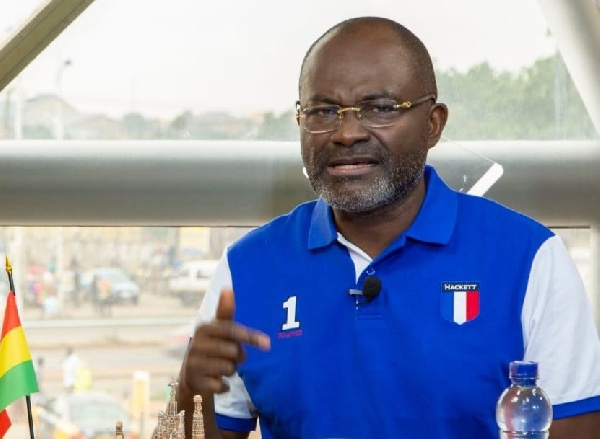 Photo of Ken Agyapong exposes Akufo-Addo's ministers sharing contracts to their children