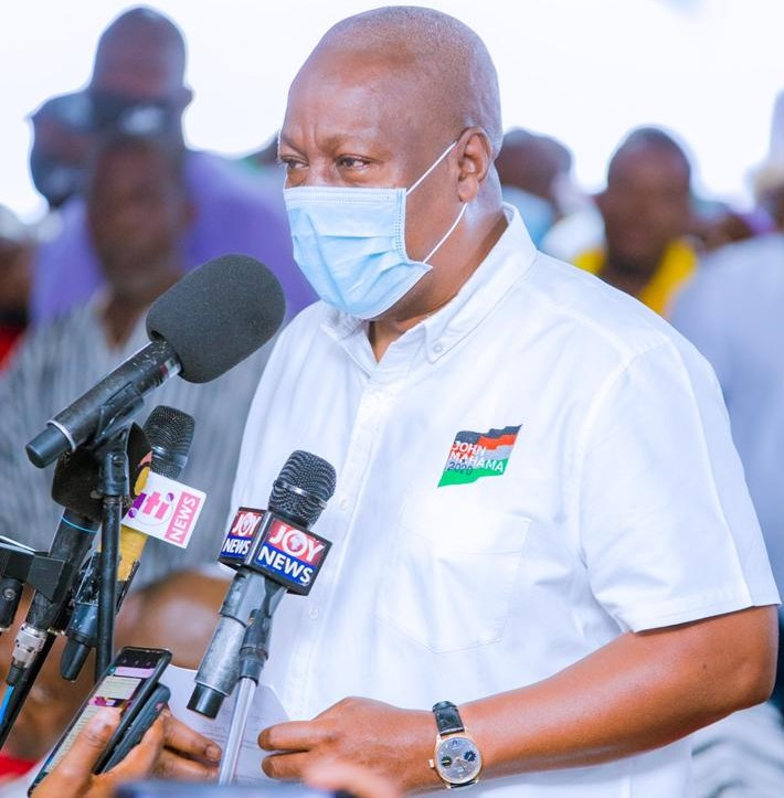 Photo of Mahama promises Gomoa Nyanyano a salt factory
