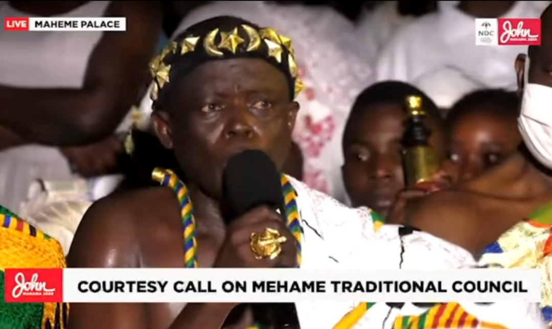 Photo of 'You've won the polls already' – Mehame Chief tells Mahama