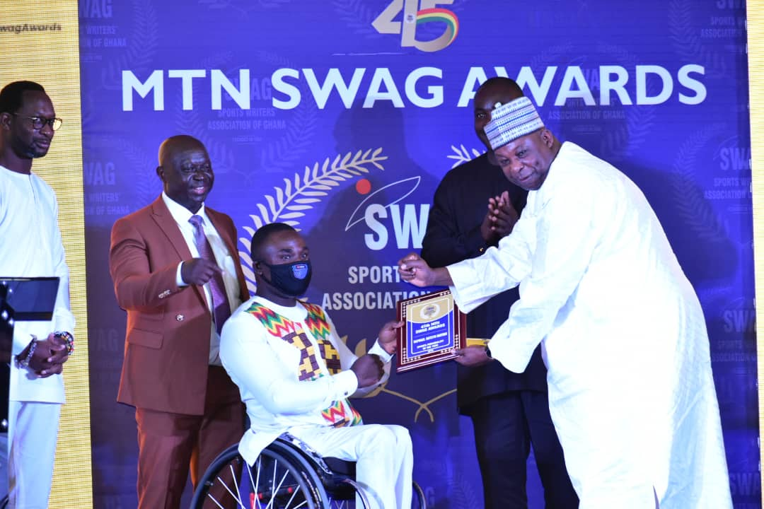Photo of It's A Dream Fulfillment To Be SWAG Sports Personality – Raphael Botsyo Nkegbe