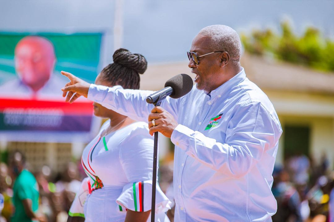 Photo of 'My Gov't will build a nation that'll create opportunities for all' – Mahama