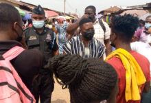 Photo of Abuakwa North NCCE, Police Sensitize Public On Coronavirus Protocols