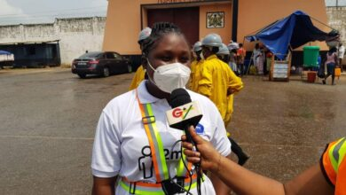 Photo of Zoomlion's Free Community Disinfection Campaign: Nsawam Prison Benefits.