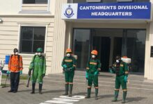 Photo of 2nd Phase Police Disinfection:  'We Can't Keep Covid Rules' Breakers In Cells' …. Cantonments Commander