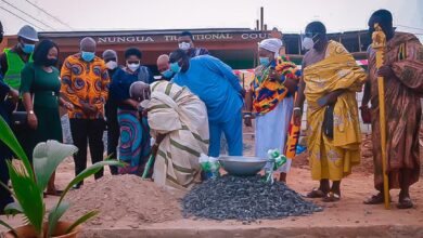 Photo of Work Begins On Construction Of Nungua Traditional Council Edifice