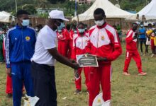 Photo of Omanhene Of Sefwi-Wiawso, Katakyie Kwasi Bumagama II Graces National Cross Country Race