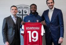 Photo of Ghana's Kwadwo Asamoah Joins Cagliari