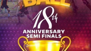 Photo of Roll Ball finals fixed March 20 at Tema
